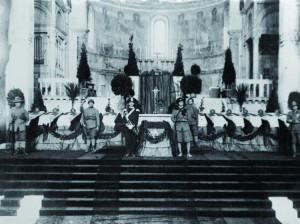 Le salme allineate ad Aquileia nel 1921
