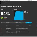 StudyBlue tiene traccia dei tuoi risultati