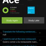 StudyBlue su Android