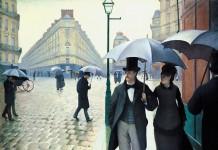 Caillebotte - Strada di Parigi, giorno di pioggia