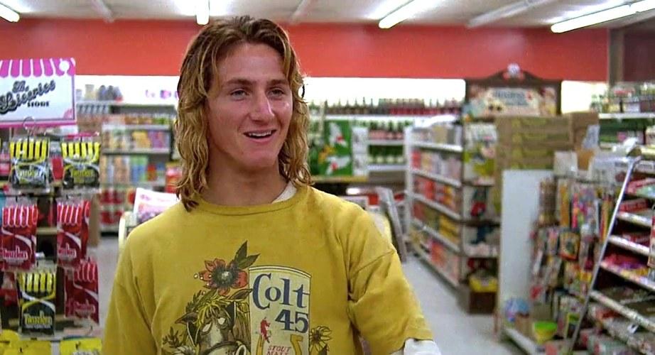 Un giovane Sean Penn in Fuori di testa