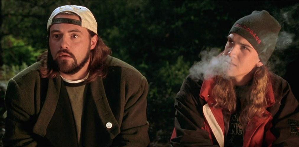 Jay e Silent Bob, piccoli spacciatori che fungono da personaggi ricorrenti in molti film di Kevin Smith