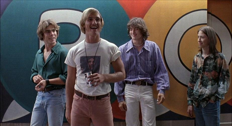 Una scena de La vita è un sogno, film divertente sulla droga con, tra gli altri, un giovane Matthew McConaughey