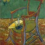 La sedia di Gauguin dipinta da van Gogh