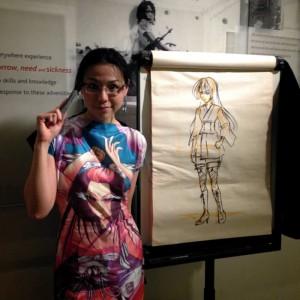 Sonia Leong a una delle sue lezioni