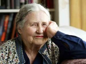 Doris Lessing, premio Nobel per la letteratura nel 2007
