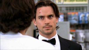 Matt Bomer ovvero Bryce Larkin a colloquio con Chuck, nel suo primo ruolo importante in TV