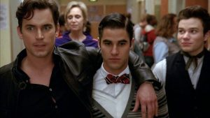 Matt Bomer in Glee, una delle sue interpretazioni più brevi ma significative