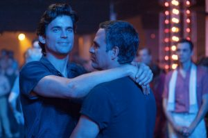 Matt Bomer in The Normal Heart, assieme a Mark Ruffalo
