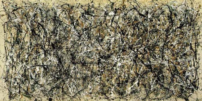 Cinque grandi quadri astratti   cinque cose belle