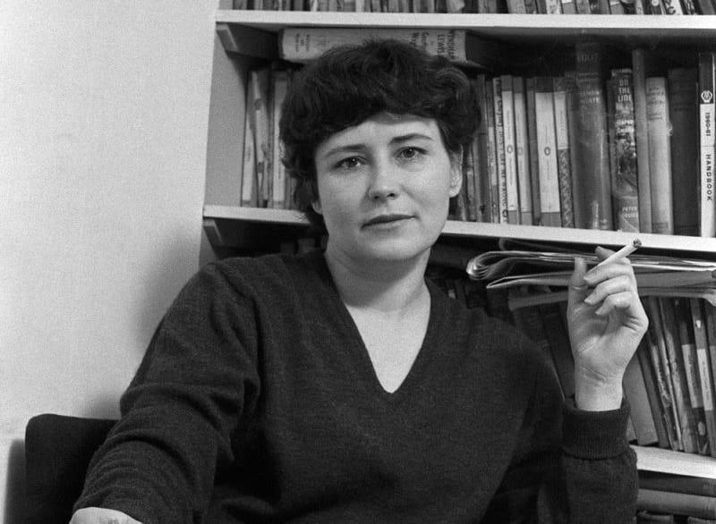 Doris Lessing in una foto di ormai parecchi anni fa