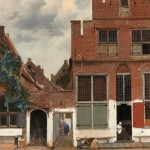 Stradina di Delft di Vermeer
