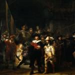 La ronda di notte di Rembrandt