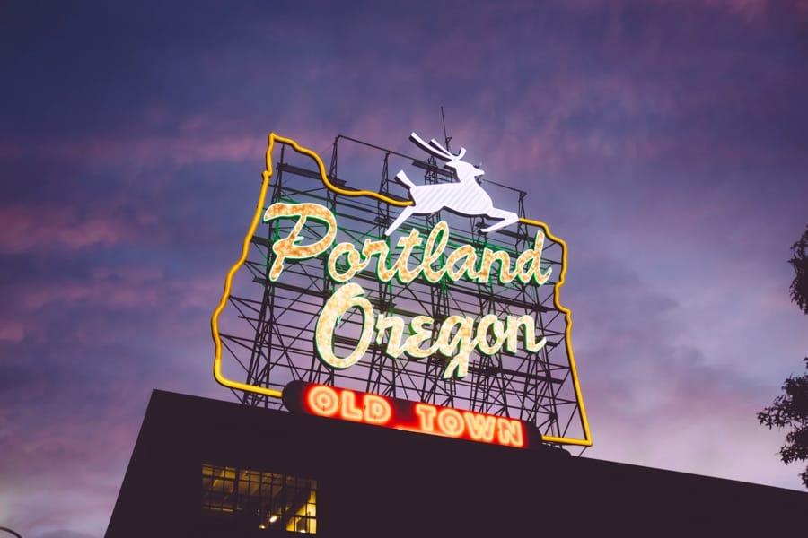 Portland, negli Stati Uniti
