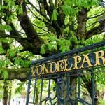Cancello d'ingresso a Vondelpark
