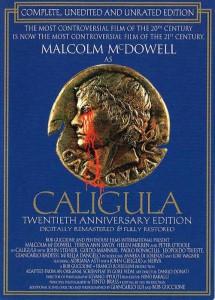 Caligola in una recente edizione in DVD