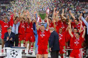 Il Bayern vincitore a Milano nel 2001