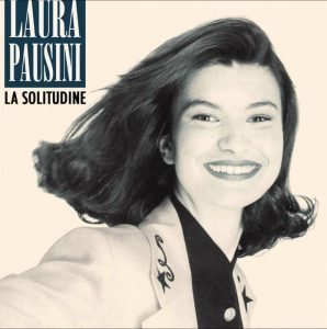 Laura Pausini sulla copertina del singolo de La solitudine