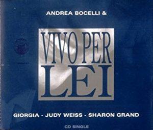 Vivo per lei cantata da Andrea Bocelli