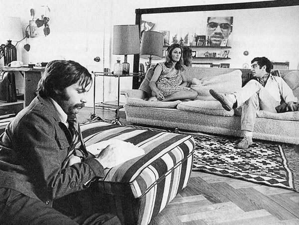 Una scena di Dropout, film del 1970 di Tinto Brass