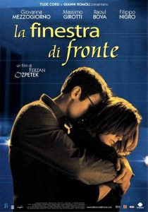 La finestra di fronte, bel film con Raoul Bova e Giovanna Mezzogiorno