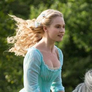 Lily James, protagonista del nuovo film su Cenerentola
