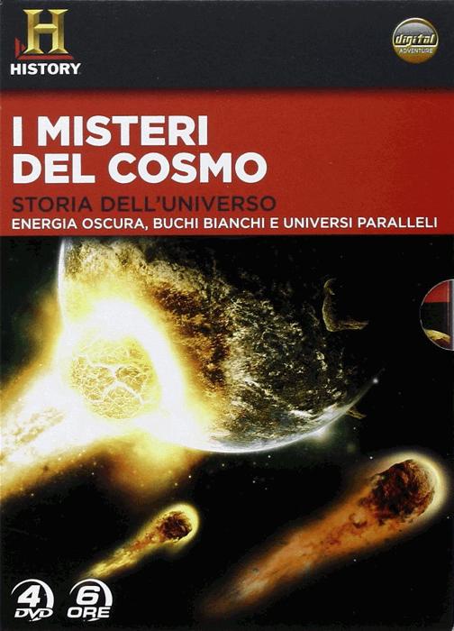 La copertina del cofanetto I misteri del cosmo