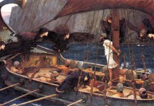 Ulisse e le sirene in un dipinto del preraffaelita John William Waterhouse