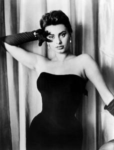 Sophia Loren all'apice del suo successo a Hollywood