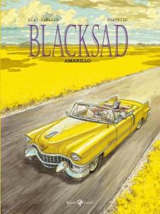 La copertina di Blacksad - Amarillo