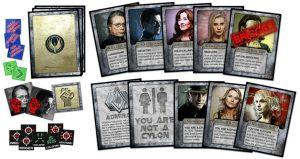 Le carte di Battlestar Galactica Express