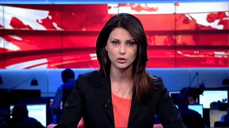 Helga Cossu, giovane conduttrice del TG