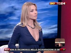 Federica De Sanctis, una delle giornaliste di Sky più note