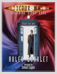 Uno dei libri del  Doctor Who: Solitaire Story Game
