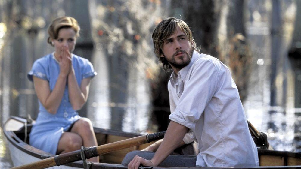 Ryan Gosling e Rachel McAdams in una scena di Le pagine della nostra vita