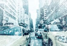 New York a Natale, sotto la neve
