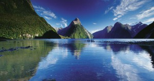 Uno dei paesaggi da sogno della Nuova Zelanda