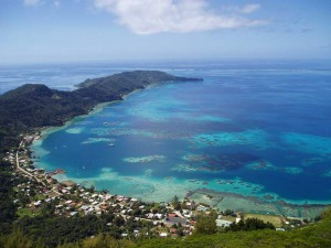 Una delle isole Pitcairn, in cui il divieto di fumo è particolarmente forte