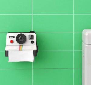 Il porta carta igienica Polaroid