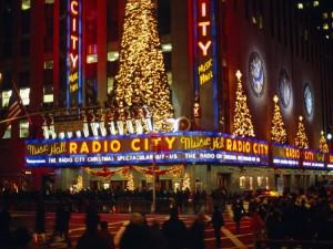 La Radio City Music Hall a Natale