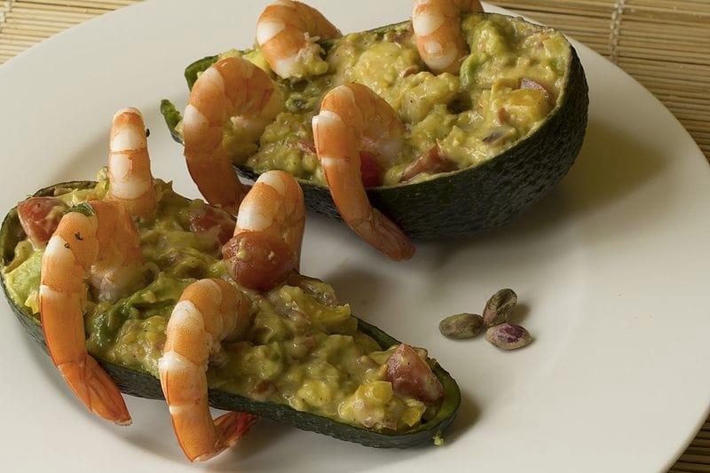 Insalata di gamberi e avocado (foto di Luca Nebuloni da Flickr)