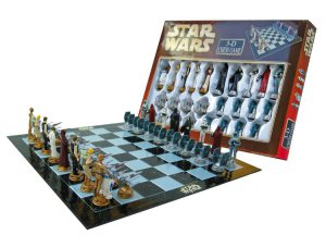 La scacchiera di Star Wars, una delle migliori idee per Natale