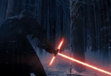 Un'immagine del primo trailer di Star Wars episodio VII