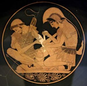 Achille e Patroclo, l'amore omosessuale più celebre dell'antichità