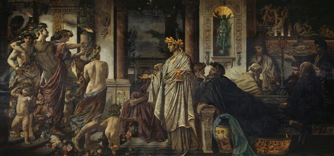 Il simposio di Platone in un dipinto di Anselm Feuerbach