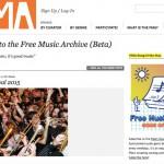 Free Music Archive, uno dei siti più noti per scaricare musica gratis legalmente