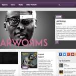 L'home page di Jamendo