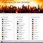 Schermata di Jamendo