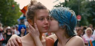 Le protagoniste de La vita di Adele, il più recente film dedicato a un amore saffico