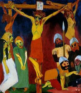 Nolde - Crocifissione